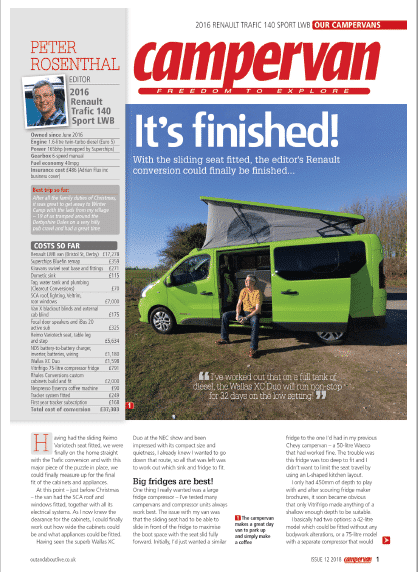 Campervan Magazine Review