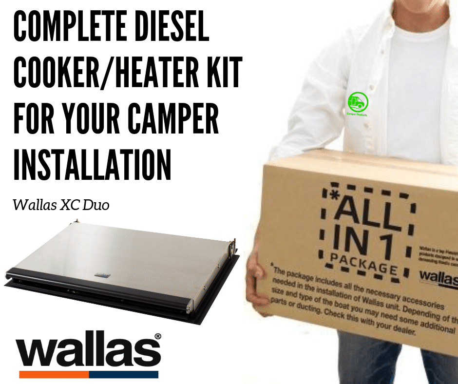 XC Duo Kits Complete kits for your Camper installation
