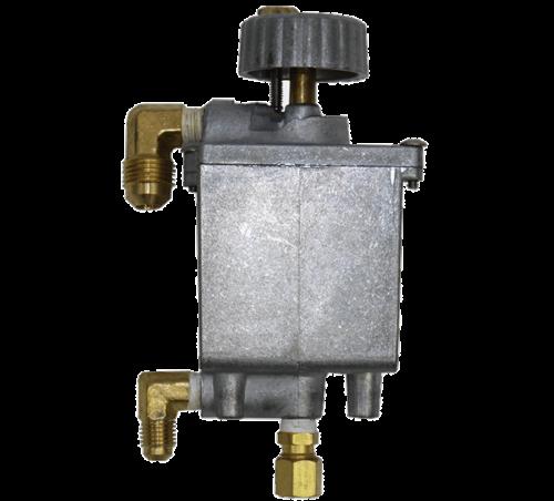 oil metering valve