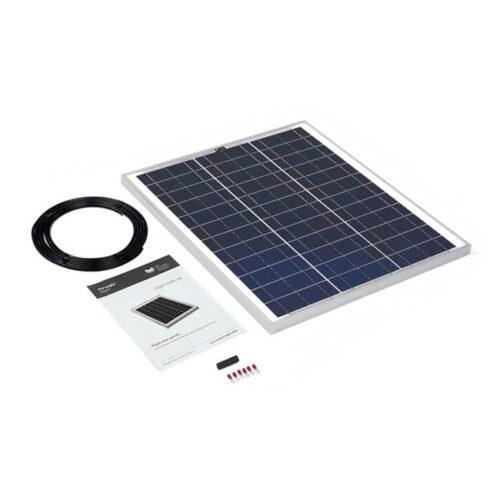 45w rigid solar panel