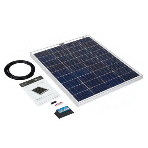 80w rigid solar panel