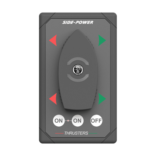 Boat switch panel dual