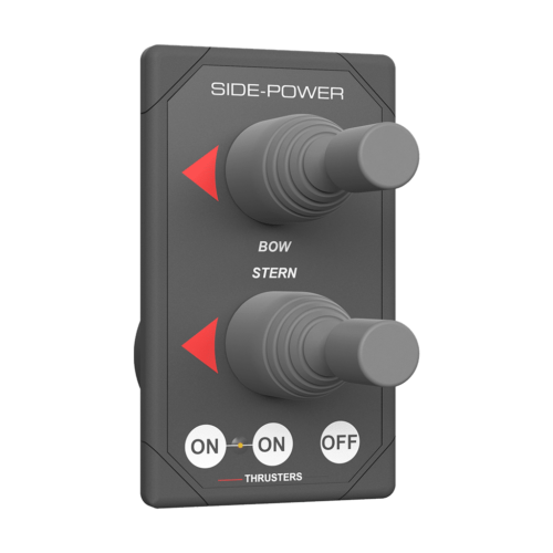 Side-Power joystick panel double