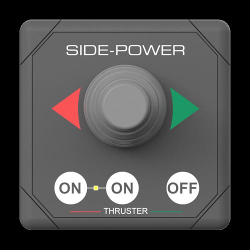 Side-Power joystick panel