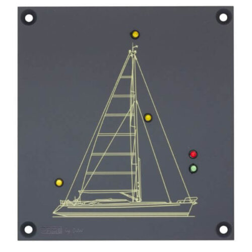 PROSLCL1 Mimic panel L for navigation lights Sloop version