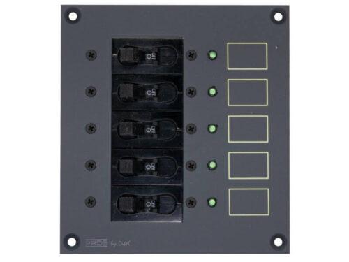 PROSLDC5 5 circuit breaker panel DC 1