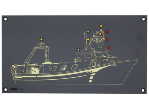 PROSXCLP Mimic panel for fishing boat