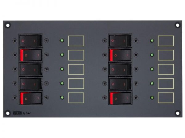 PROSXRC10 DC Panel with 10 breakers