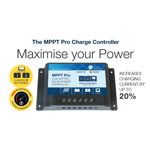 15A Dual Battery MPPT Pro Charge Controller