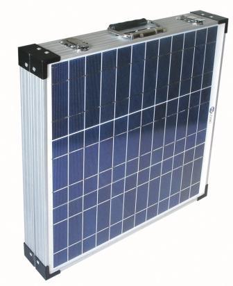closed solar panel