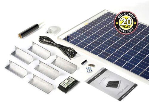 120w Solar Panel Complete Kit