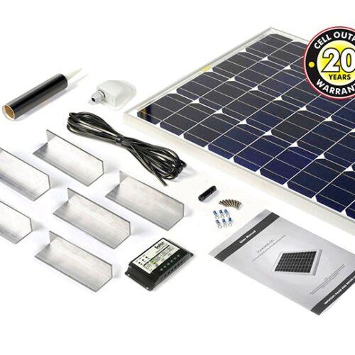 150w Solar Panel Complete Kit