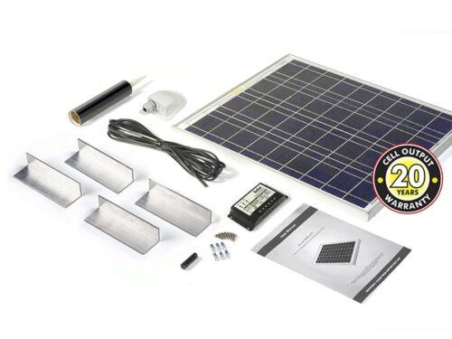 45w Solar Panel Complete Kit