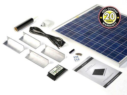 60w Solar Panel Complete Kit