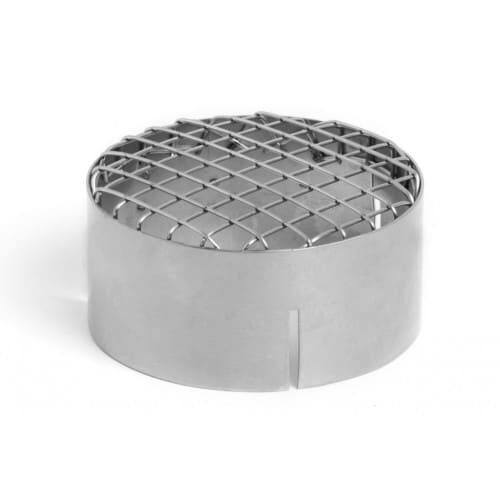 Heater inlet grill