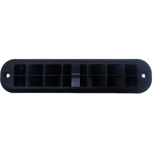Kalori warm air connection box with Grill 55mm 2