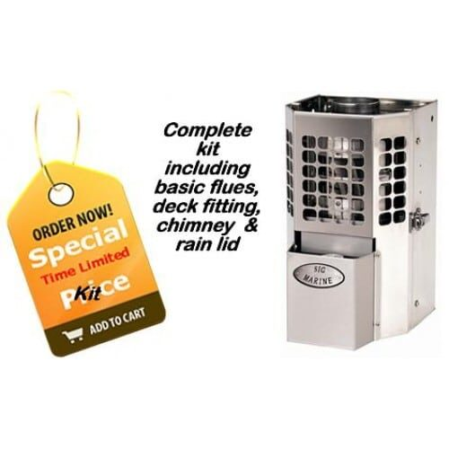 Sig Marine 100 cabin heater kit