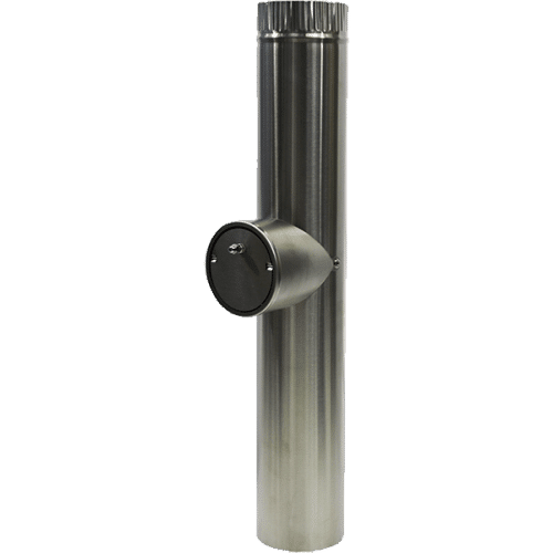 flue with damper