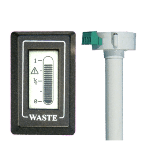 waste gauge and sender