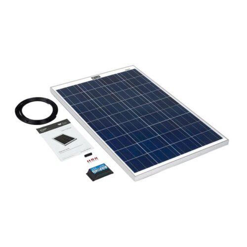 100w rigid solar panel