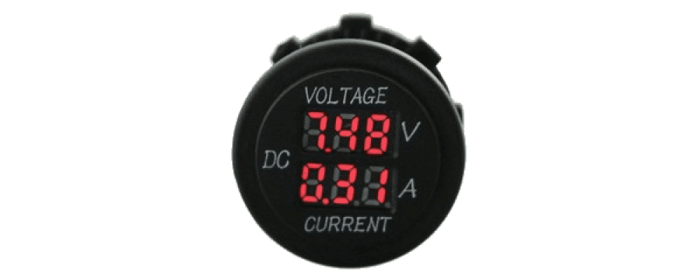 volt ammeter for batteries