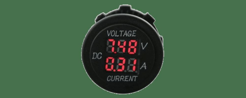 volt ammeter for batteries