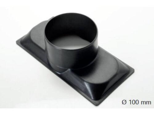 Air diffuser adaptor 100mm