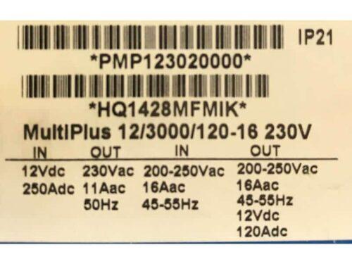 12/3000/120-16 MultiPlus - product return 2