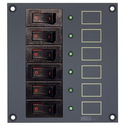 PROSLMRC6 Panel with 6 fuses