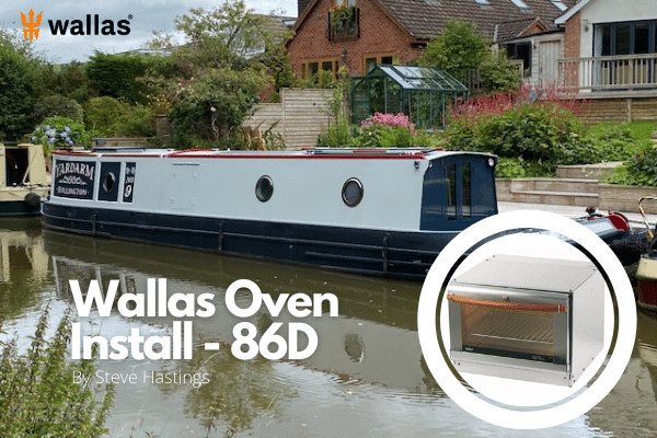 wallas oven install 86d